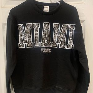 Victoria's Secret PINK Bling crew sweatshirt